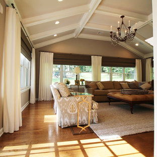 Sunrise Drive Sun-room Addition, Master Suite and Front Elevation Redesign