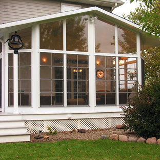 Sunroom added on existing Porch