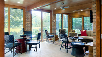Sunroom Addition to a Midcentury Home