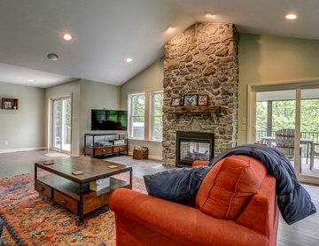 Sunroom and Deck Addition