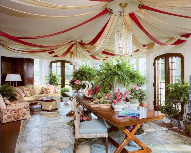 Traditional Sunroom by Cindy Abramovitz, Allied ASID