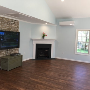 Sunroom converted to Living Space