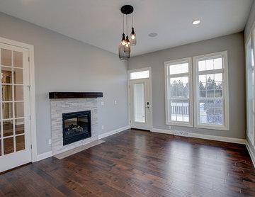 Sunroom in Custom Residence