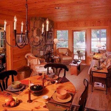Sunroom Leads to Wraparound Porch