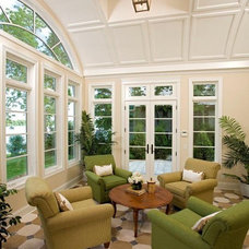 Traditional Sunroom by Stonewood, LLC