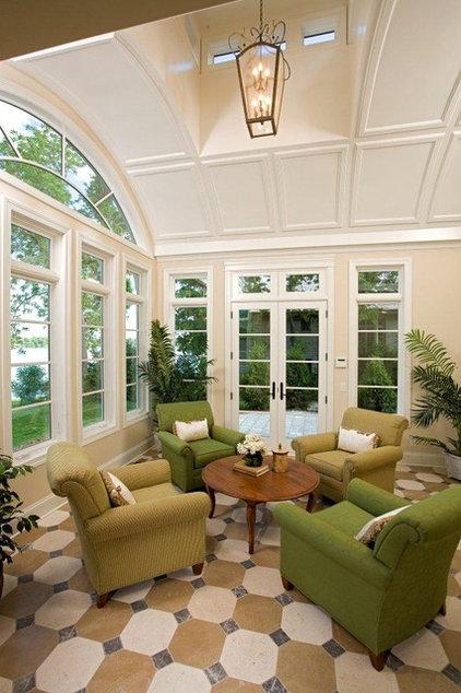 Traditional Sunroom by Stonewood, LLC