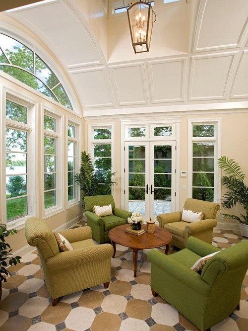 Sunroom Furniture Arrangement Houzz