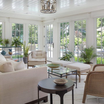 Sunroom with a View