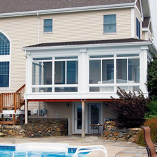 Transitional Sunroom by Lehigh Patio Rooms