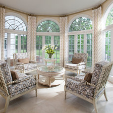 Traditional Sunroom by Lauren Nicole Designs