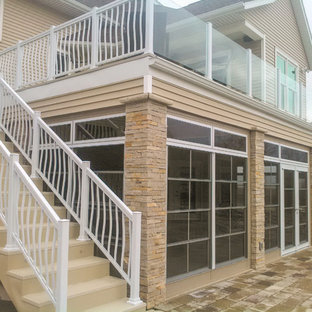 Immagine di una veranda moderna