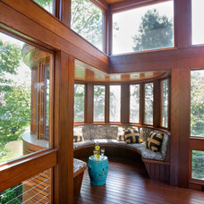 Contemporary Sunroom by Foley Fiore Architecture
