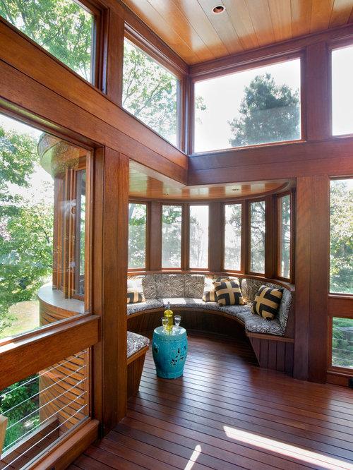 Red Cedar Cladding Sunroom Design Ideas Renovations Photos