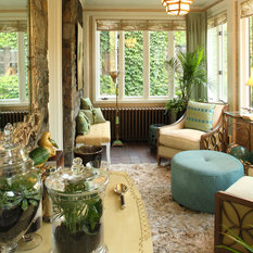 "Eclectic Sunroom Tampa The ""Atrium"", photo by Randolph Ashey"