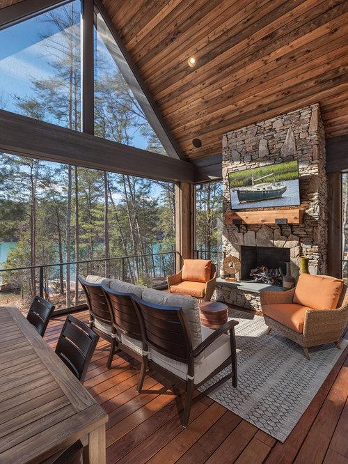 Best Rustic Sunroom Design Ideas Amp Remodel Pictures Houzz
