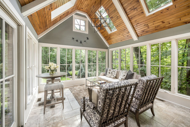 Traditional sunroom by rigsby builders inc