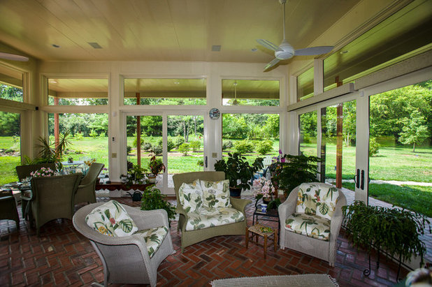 Nice Rustic Sunroom by Wilmes u Associates Architects