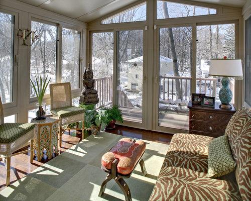 kleiner eklektischer wintergarten bilder ideen houzz. Black Bedroom Furniture Sets. Home Design Ideas