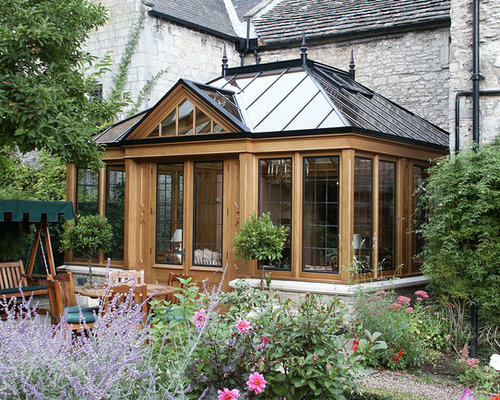 Sunroom With Flar Roof Houzz