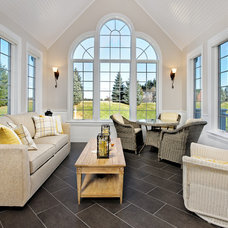 Traditional Sunroom by WarmlyYours Radiant Heating