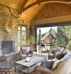 traditional porch by Alan Mascord Design Associates Inc