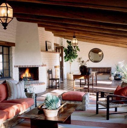 Mediterranean Porch by Scott Sanders LLC
