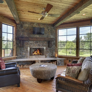 Twin Cities Porches with Fireplace