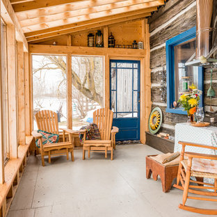 75 Most Popular Affordable Rustic Sunroom Design Ideas For 2019