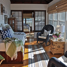 Traditional Sunroom by Ally Whalen Design