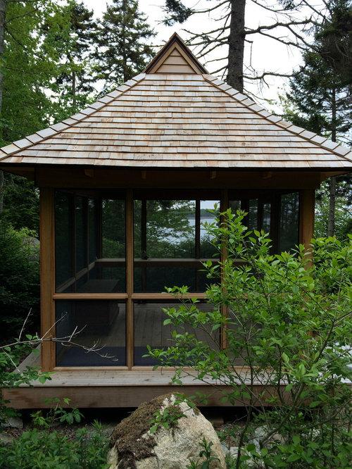 Premium Eastern Red Cedar Sunroom Design Ideas