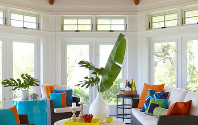 10 Ways to Style a Sun Porch