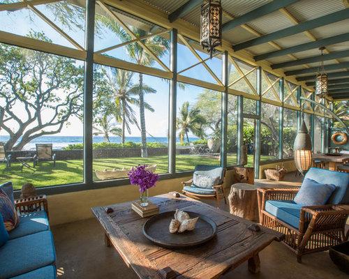 Eclectic Sunroom Hawaii 20 hawaii Sunroom Design Photos