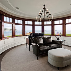 Traditional Sunroom by Robert A. Cardello Architects