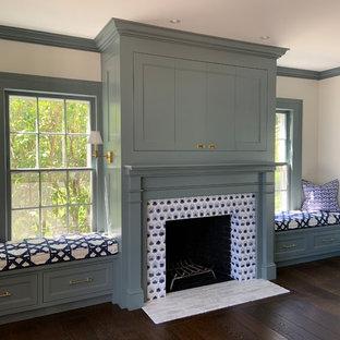 William Morris Daisy Fireplace, New Preston Sunroom