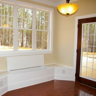 Window Bench in the Breakfast Room