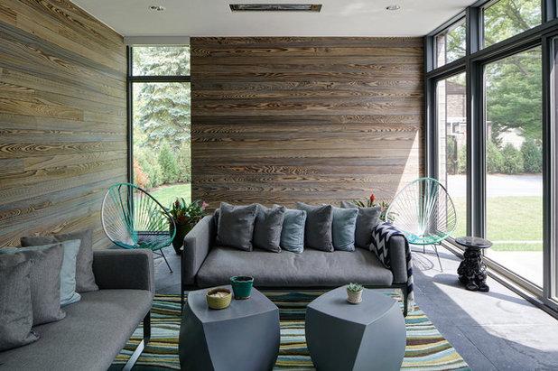 Contemporary Sunroom by Schanstra Design Group