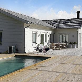 Удачное сочетание для дизайна помещения: бассейн в скандинавском стиле - самое интересное для вас