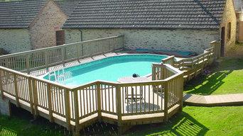above-ground pool Somerset