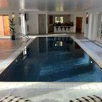 kung saunas installs contemporary swimming pool hot. Black Bedroom Furniture Sets. Home Design Ideas