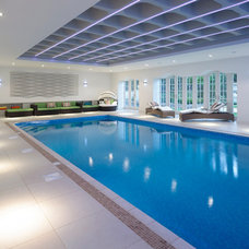 Contemporary Pool by Bereco