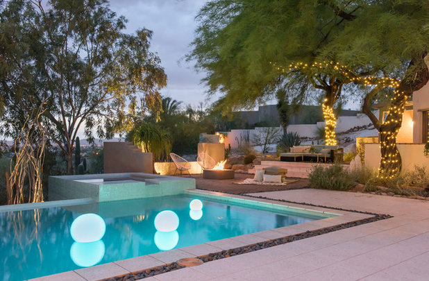 Contemporary Pool by BOXHILL