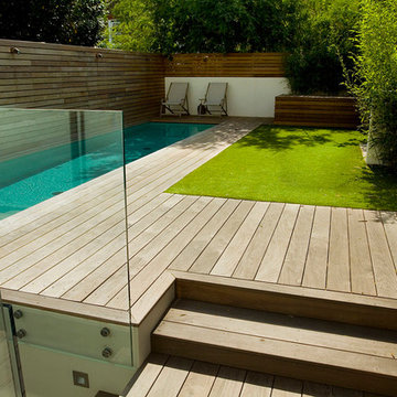 Contemporary Small Garden in Fulham, London