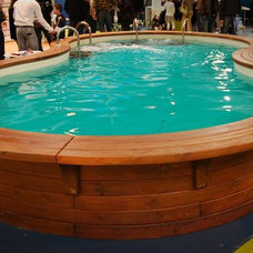 Contemporary Pool by EcoCurves