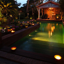 Eclectic Pool by Luxurious Living