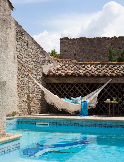 Mediterranean Swimming Pool by Nathalie Priem Photography