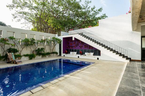 Eclectic Swimming Pool by Shabnam Gupta