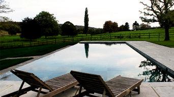 Hambledon, Berkshire - Infinity Lap Pool
