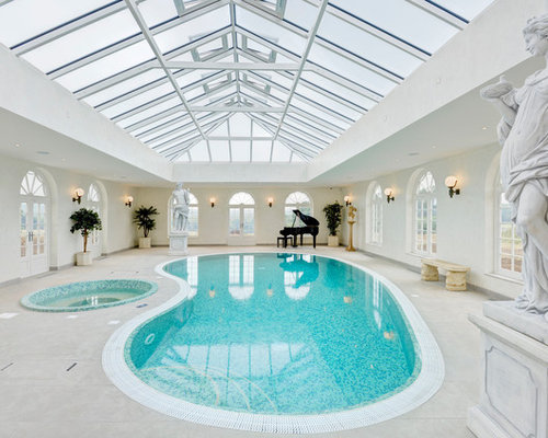 Traditional swimming pool design ideas renovations photos for Traditional swimming pool designs