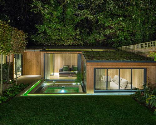 luxus garage und gartenhaus ideen bilder houzz. Black Bedroom Furniture Sets. Home Design Ideas