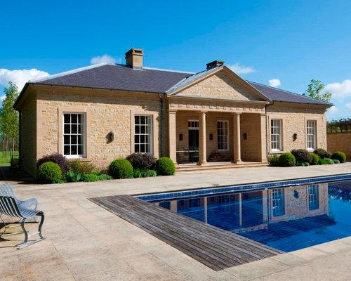 Kingsham farm pool house Gothick villa regent s park